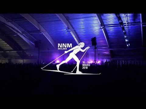 Åpningsshow for NNM premieseremoni 2018 i Mosjøen