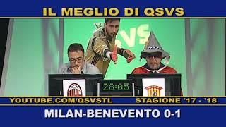 QSVS - I GOL DI MILAN - BENEVENTO 0-1  TELELOMBARDIA / TOP CALCIO 24