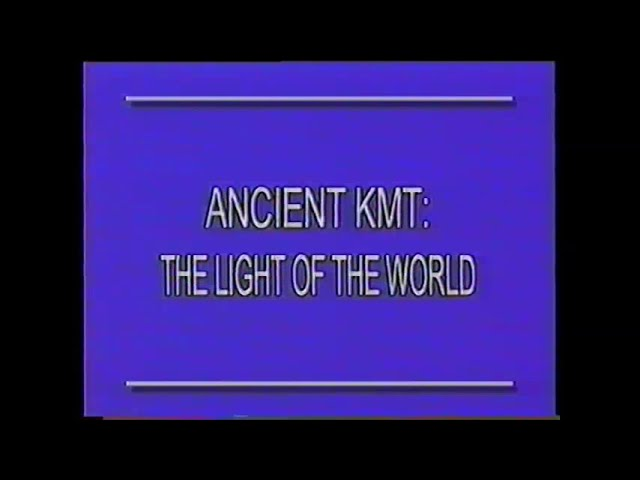 Ancient KMT:Light of The World - H3O Art of Life Show