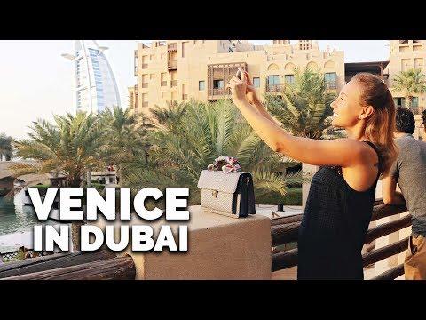 Little Venice of Dubai. Souk Madinat Jumeirah.