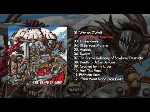 GWAR  The Blood of Gods  FULL ALBUM