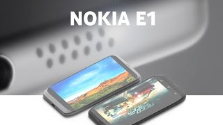 Coming Soon Nokia Nokia E1 Android Smartphone Release Date, News, Specifications.