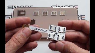 iPhone XS Max Dual SIM - Quadruple Multi-SIM Adapter 4G for iPhone XS Max - Speed X-Four-XS Max