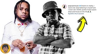 Squash In His Element   Popcaan Turn Dreams Into Reality