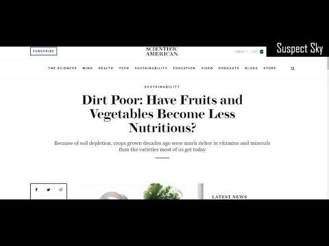 Vitamin MegaDose Supplementation / Medical Cartel / Poisoned Soil [DISCUSSION]