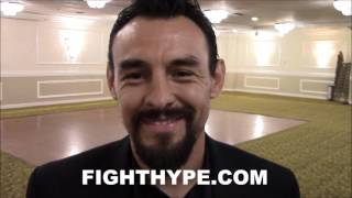 ROBERT GUERRERO REACTS TO MAYWEATHER SPARRING; INSISTS HE'S NOT DONE AND WILL COME BACK