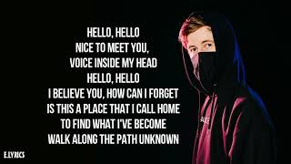Alan Walker-Spectre [lyrics]