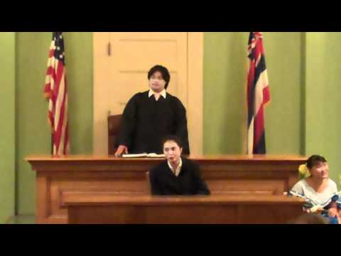 HYOC presents Trial by Jury by Gilbert and Sullivan. 2 of 4