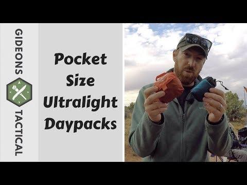 Pocket Size Ultralight Daypacks by Osprey & Sea To Summit