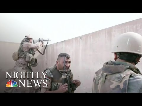 Mosul: Iraqi Forces Continue Battle To Retake The Entire City From ISIS | NBC Nightly News