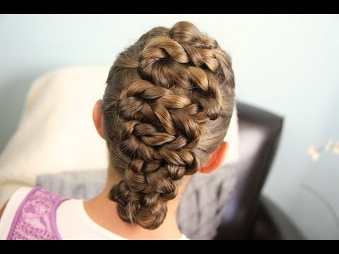 Zig Zag Twists Updos Cute S Hairstyles