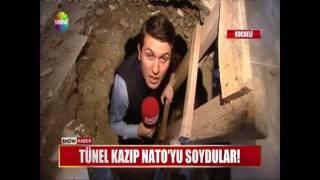 Tünel kazıp Nato'yu soydular!