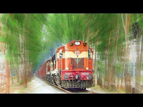 Trains inside a GREEN House : Indian Railways