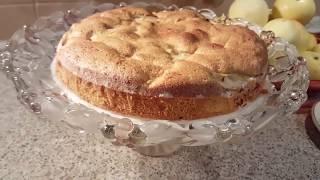 Шарлотка с яблоками .Простой рецепт любимого пирога.Быстро,просто,вкусно!