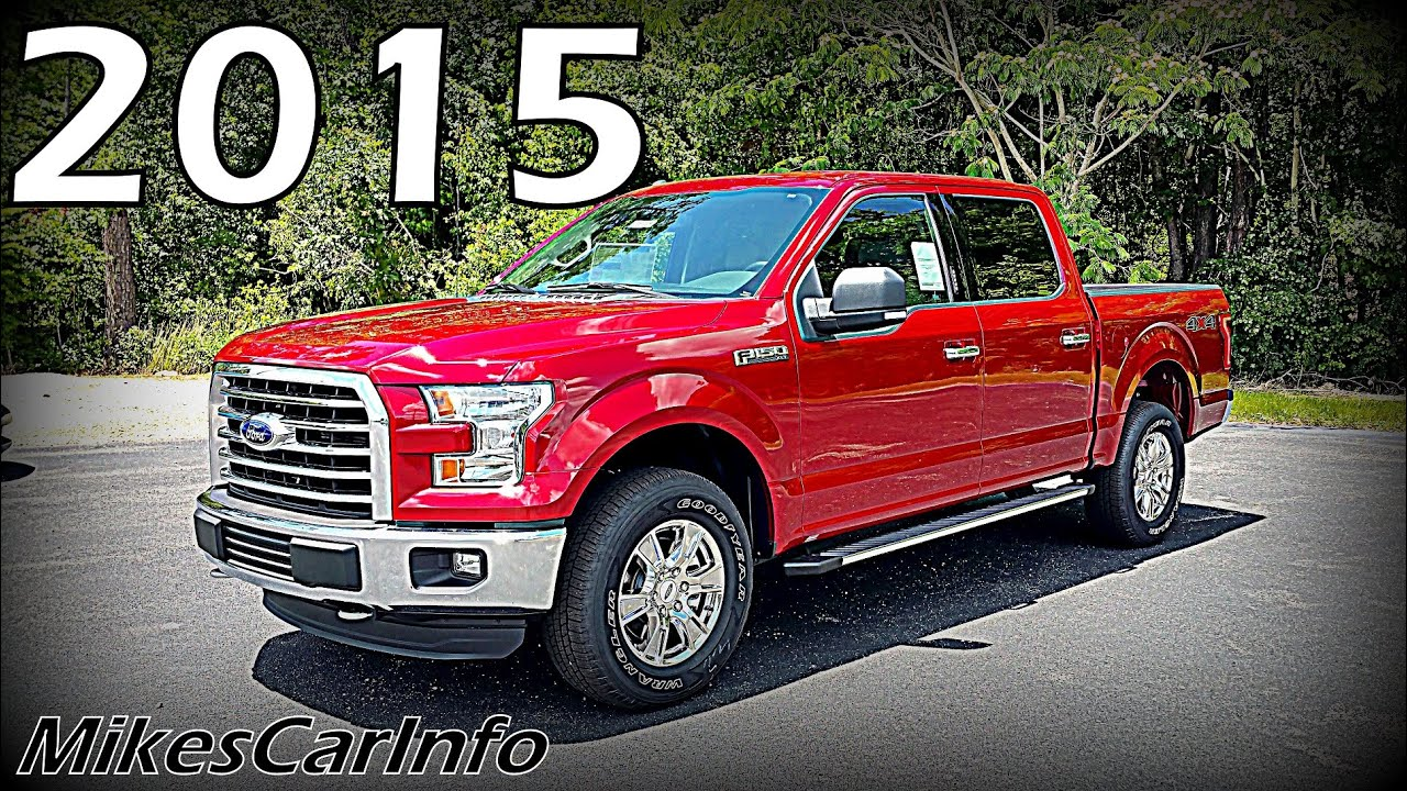 2015 ford f 150 xlt crew cab 4wd youtube. Black Bedroom Furniture Sets. Home Design Ideas