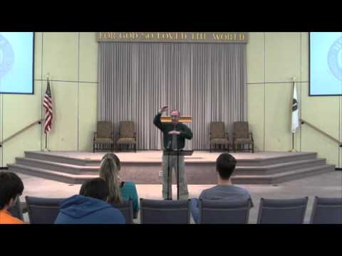 """""""The Role of the Minister in the Church and Community"""" by Dr. Bill Bagents"""