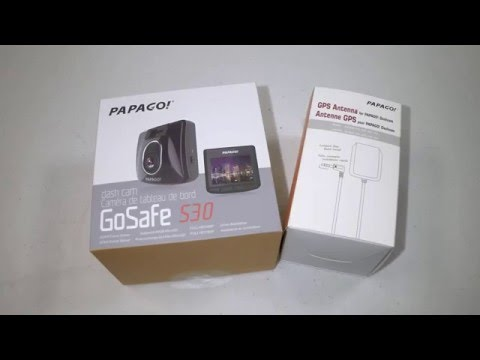 PAPAGO! GoSafe S30 Dash Cam Unboxing Review