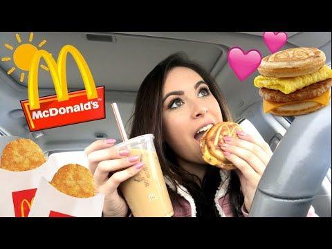 MCDONALDS BREAKFAST MUKBANG (Eating Show) - YouTube