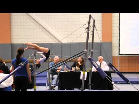 Sophie Gymnastics Bars Event Athens GA