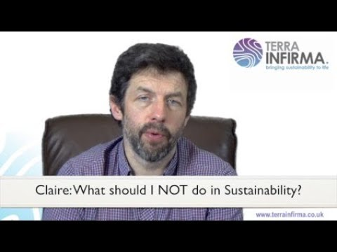 Ask Gareth 38: The 3 Biggest Sustainability Strategy Pitfalls