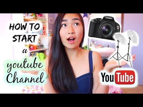 How to Start a YouTube Channel! (Using Music, Getting Views, Cameras, etc.)