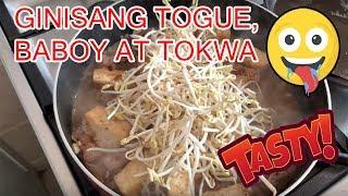 GINISANG TOGUE, BABOY AT TOKWA