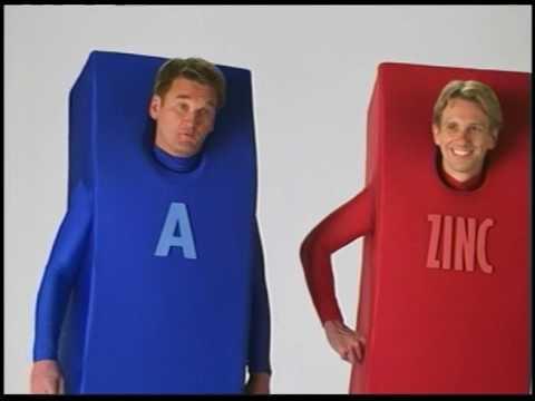 Centrum Vitamins A to Zinc!
