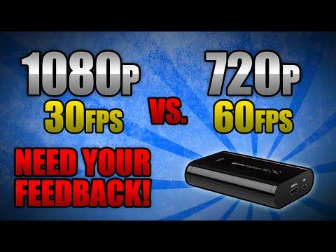 1080p 60fps vs 720p 120fps