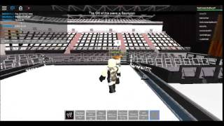 Roblox - WWE 2K15 - Big Show Knocks Out A Ref