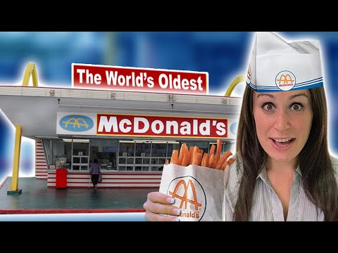 We Visit The World's OLDEST McDonald's 🍟