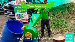 Silage making - High speed Chaff Cutter India Inquire WhatsApp no +915622240765