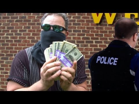 Man Makes Money Mistake and Faces Felony Charges - Bank Robbers?