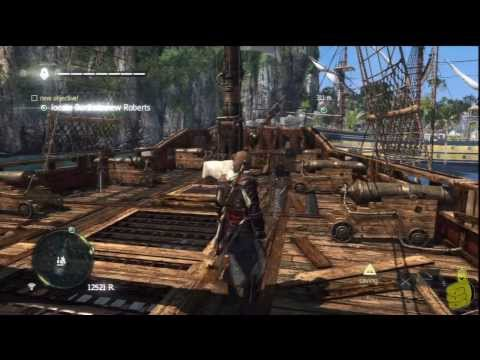Assassin's Creed IV Black Flag: Sequence 12 Memory 2 (Royal Misfortune) 100% Sync - HTG