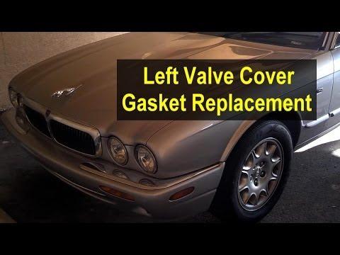 Valve / cam cover gasket replacement, left side, Jaguar XJ8 & XK8 - Auto Repair Series
