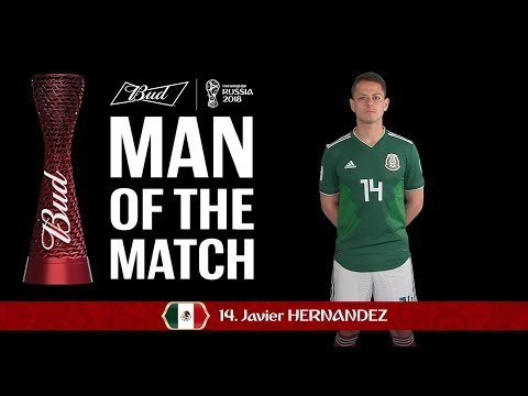 Javier HERNANDEZ (Mexico) - Man of the Match - MATCH 28