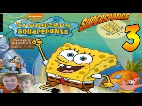 SpongeBob SquarePants: SuperSponge PS1 - PART 3 - Escort Gary!