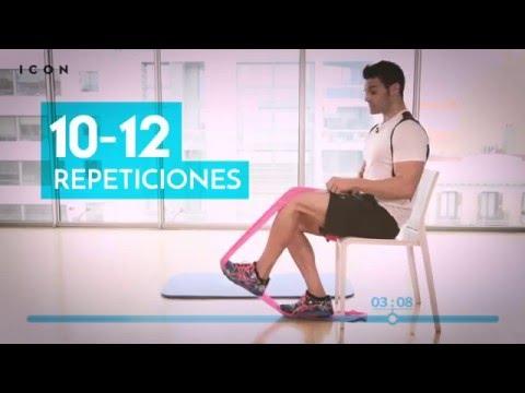 Cuatro ejercicios para unas rodillas fuertes | El reto de los 4 minutos