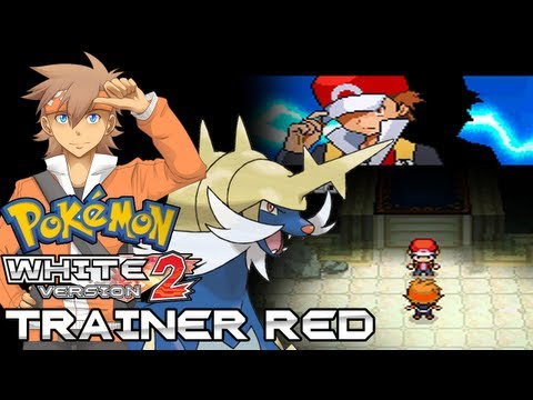 Pokemon White 2 Hack: Vs. Trainer Red