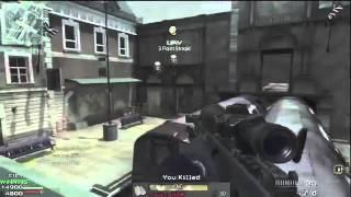 Modern Warfare 3 Gameplay - Quickscoping w/Barett