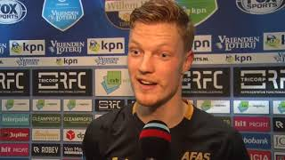 Video Gol Pertandingan Willem II vs AZ Alkmaar