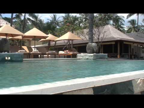 The Qunci Villas Resort in Lombok, Indonesia