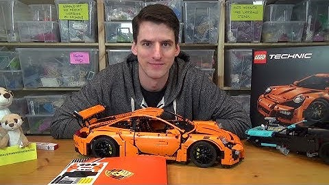 LEGO® Technic 42056 - Porsche 911 GT3 RS Review