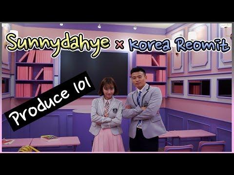 Pakai Seragam Produce 101, Korea Reomit x Sunnydahye