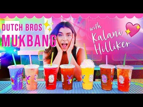 Dutch Bros MUKBANG with Kalani Hilliker!!