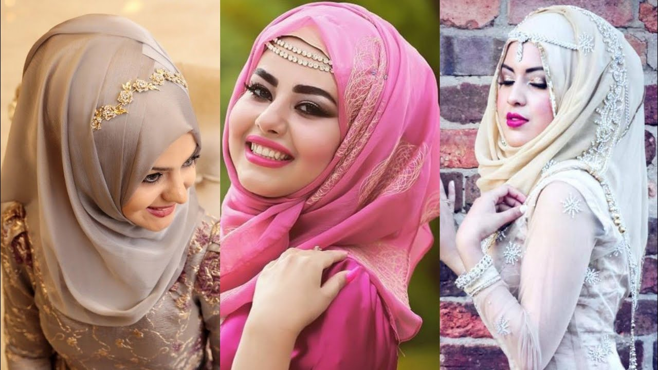 Fashionable Hijab Style For Parties 2019 Youtube