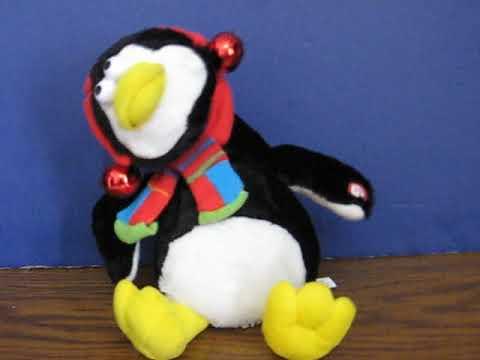 Sale Item Demo  Dan Dee Singing Christmas Penguin - Yakkity Yak / Quackity Quack