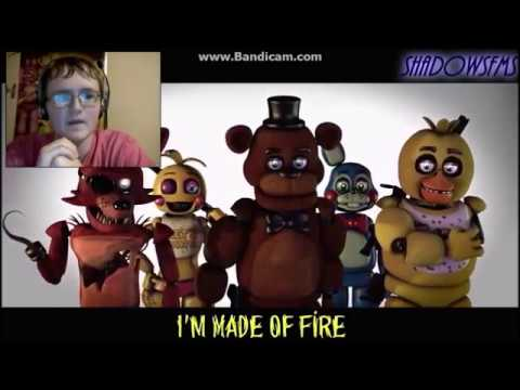 [Sfm/Fnaf] Aftermath (Feel Invincible Song by Skillet) Reaction | THE BEST EVER!!!|