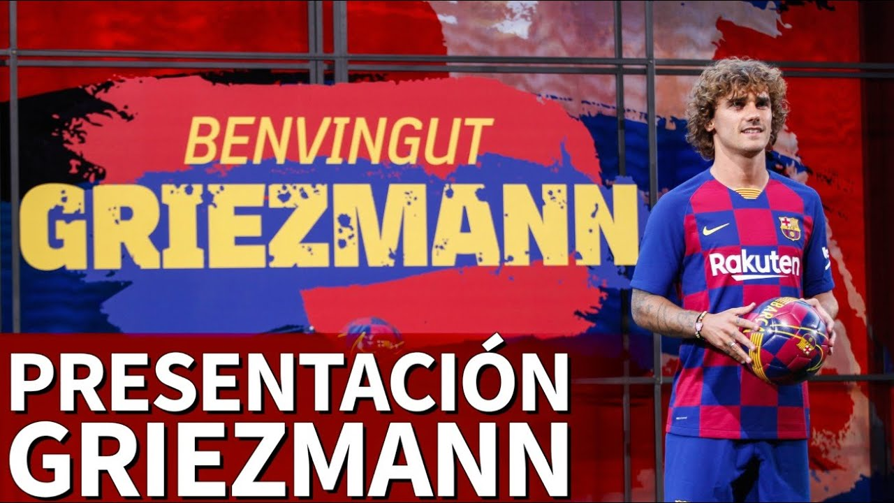 detailed look 4a056 593ea Griezmann Barcelona presentation - how it happened - AS.com