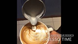 Latte Art: Rosetta 02@D