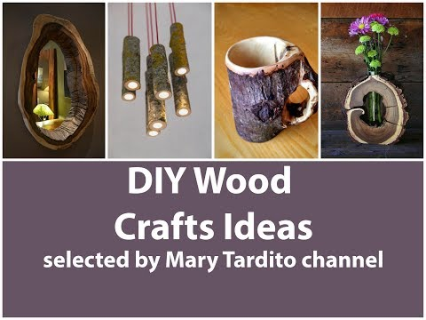 DIY Wood Crafts Ideas